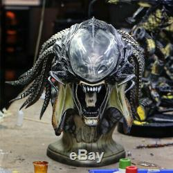 1/1 SS PREDALIEN Bust Predator&Alien Head GK Resin Model Collections Statue