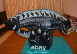 1/1 Scale Alien Bust Head Resin Model AVP GK Painted Collectibles New
