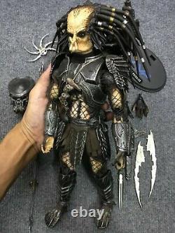 1/6 Rare Hot Toys MMS09 AVP Alien vs Predator Celtic Predator Action Figure