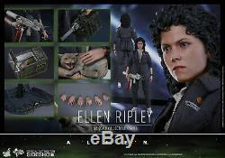 1/6 Scale Alien Ellen Ripley Figure Hot Toys with custom Nostromo diorama lot