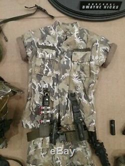 1/6 Scale Hot Toys Aliens Colonial Marine Custom Hicks Armor Set & BDU's
