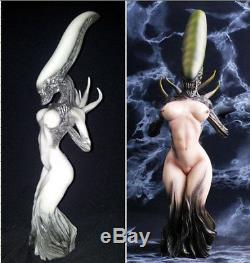 10 Style 12 Predator vs Alien Queen Sexy Figure Statue AVP Model Collectibles