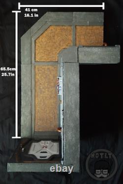 112 Custom Nostromo C Deck Corridor Diorama Alien For Neca Mezco Marvel Legends