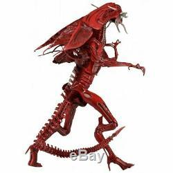 15 NECA Xenomorph Red Alien Queen Ultra Deluxe Action Figure Model Toys Gift US