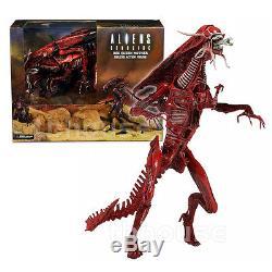 15 RED ALIEN QUEEN XENOMORPH figure GENOCIDE aliens ULTRA DELUXE BOXED mother
