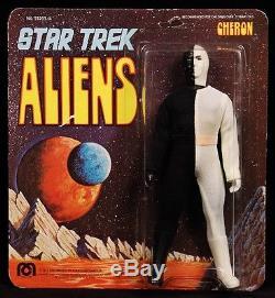 1975 MEGO STAR TREK ORIGINAL TV SERIES VINTAGE ALIEN CHERON MOC NICE HIGH GRADE
