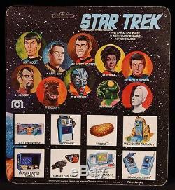 1975 MEGO STAR TREK ORIGINAL TV SERIES VINTAGE ALIEN GORN MOC NICE HIGH GRADE