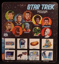 1975 MEGO STAR TREK ORIGINAL TV SERIES VINTAGE ALIEN KEEPER MOC BROKEN LEG