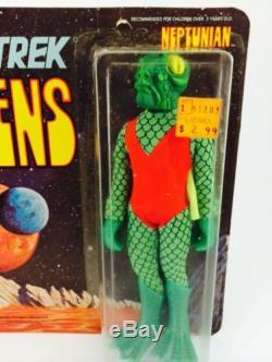 1975 MEGO STAR TREK ORIGINAL TV SERIES VINTAGE ALIEN NEPTUNIAN MOC