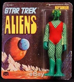 1975 MEGO STAR TREK ORIGINAL TV SERIES VINTAGE ALIEN NEPTUNIAN MOC HIGH GRADE