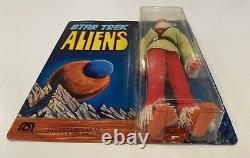 1976 MEGO Star Trek Aliens Mugato MOC New Unpunched, Sun faded- Read Description