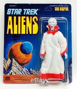 1976 Mego Star Trek Aliens The Keeper Action Figure No. 51203/2 NRFB