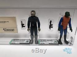 1978 Kenner Star Wars First Shot Prototype Sears Cantina Set of 4 AFA Graded