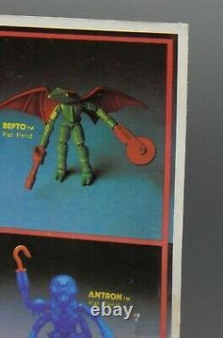 1979 Original vintage MEGO Micronauts MEMBROS Alien Action figure MOC toy SEALED