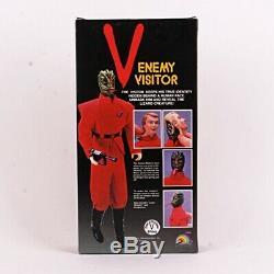 1984 Enemy Visitor V 12 Vintage Alien Action Figure NIB by Ljn Toys