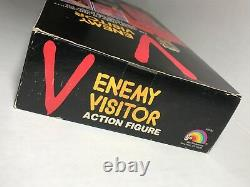 1984 V The Visitors 12 Enemy Visitor Action Figure NIB Richard Herd Autographed