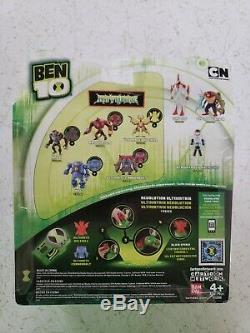 2011 Ben 10 Way Big Ultimate Alien 4 Action Figure Ultra Rare Sealed / New