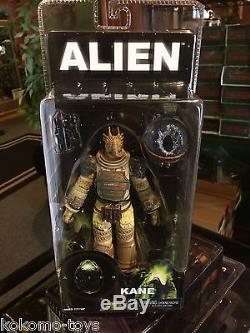 2015 NECA Alien 1979 KANE with Facehugger 7 Inch Horror AVP Movie Figure MOC