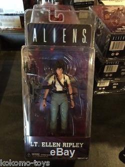 2015 NECA Aliens Series 5 LT. ELLEN RIPLEY 7 Inch Action Figure MOC