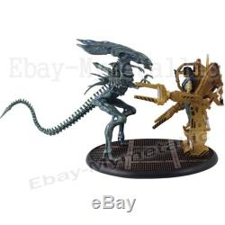 2pcs Set Movie Film Aliens Colonial Marines Xenomorph Ellen 8cm/3.2 PVC Figure
