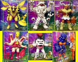 5 Evil Space Aliens 6 Figure set New 1994 Power Rangers Bandai Morphin Amricons