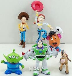 6× Toy Story BuzzLightYear Woody Alien Jessie Figures Doll Set