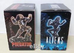 72446 Action Figure ALIENS & PREDATOR Inter-locking Micro Statue Palisades