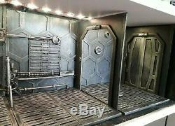 8x Custom Diorama. Base and Wall Set. Neca, Mezco, Marvel Legends, Black Series