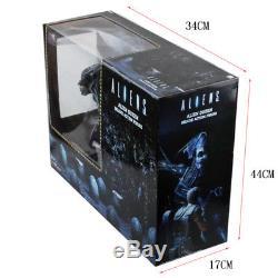 A Big Size NECA ALIEN Queen Deluxe 16inch PVC Figure Model Toys 38cm Blue