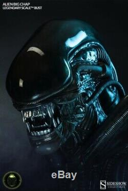 ALIEN Big Chap Legendary Scale Bust Sideshow Giger 12 scale RARE numbered MINT