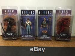 ALIEN NECA Series 5 Set of 4 Figures NEW