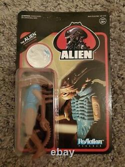`ALIEN SDCC 2018 SUPER7 XENOMORPH COIN MOC In Stock Unpunched