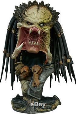 ALIEN vs PREDATOR Wolf Predator 18 Legendary Scale Bust (Sideshow) #NEW