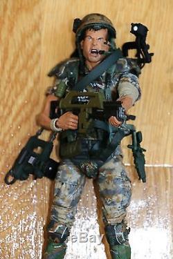 ALIENS Corporal Dwayne Hicks & Hudson vs Xenomorph Warrior (NECA) Figure Lot