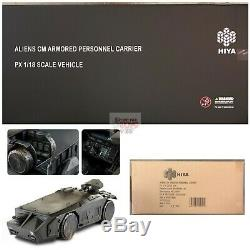 APC Armored Personal Carrier HIYA TOYS ALIENS 118 Scale Vehicle EXCLUSIVE 2019