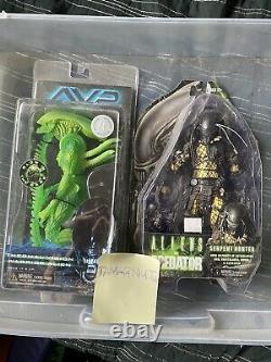 AVP Lott SERPENT predator Term Vision Warrior alien NECA