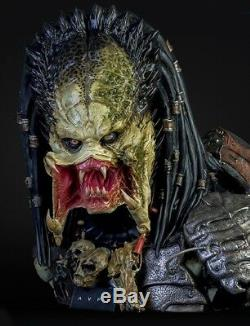 AVP2 Alien vs Predator Wolf Predator Life Size Bust Prop Replica Figure NEW