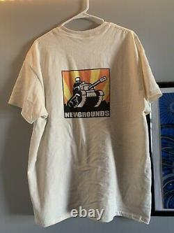 Alien Hominid Castle Crashers T Shirt XL newgrounds The Behemoth RARE