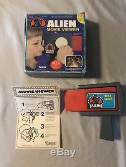 Alien Movie Viewer Kenner 1979 Alien Terror In Working Condition