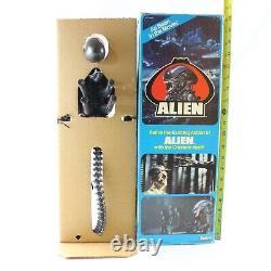 Alien Poseable 18 Xenomorph Vintage Action Figure BOX & POSTER Kenner 1979 1