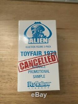 Alien prototype figure set With Kane 2 pack Toyfair Super 7 ReAction SDCC 2013