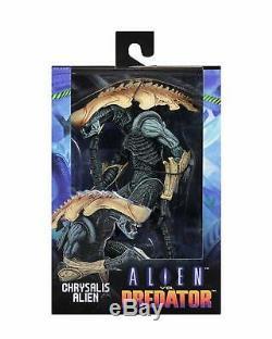 Alien vs. Predator CHRYSALIS ALIEN ACTION FIGURE NECA AVP Aliens Arcade