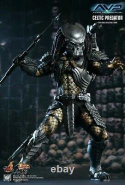 Alien vs Predator Hot Toys Movie Masterpiece Celtic Predator Collectible Figure