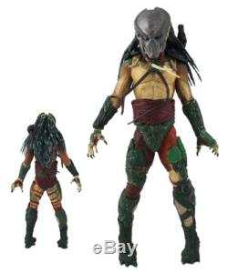 Alien vs Predator Masked Predator 20cm Official Limited Action Figure With Fangs
