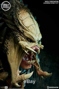 Alien vs Predator Requiem Wolf Predator Legendary Scale Bust (Int. Exclusive)