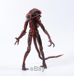 Aliens 1986 8in. Action figure Alien Xenomorph warrior the red ver. Boxed