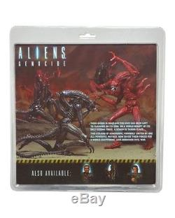Aliens 7 Scale Genocide 2-pack (Black & Red Xenomorphs) NECA