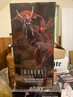 Aliens Genocide Red Queen Mother Deluxe Action Figure From Neca