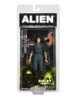 Aliens Series 4 7 Scale Ripley in Jumpsuit Action Figure with Jonesy NECA