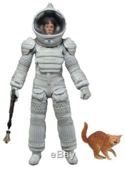 Aliens Series 4 7 Scale Ripley in White Nostromo Suit Action Figure NECA